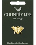 Bee Pin Badge - Gold Plated