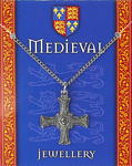 Medieval Cross Pendant - Pewter