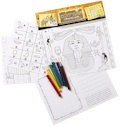 Egyptian Educational Colouring Postcards