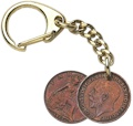 Farthing Key-Ring - George V