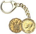 Threepence Key-Ring - George VI