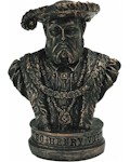 Henry VIII Bust 2.5""
