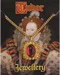 Elizabeth I Gem Pendant - Gold Plated