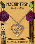 Mackintosh Heart Pendant