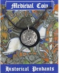 Medieval Coin Pendant - Pewter