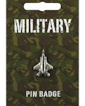 Stealth Fighter Pin Badge