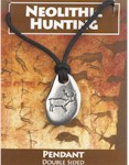 Neolithic Hunting Pendant - Stag