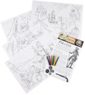 Pirate Educational Colouring Posters