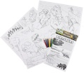 Prehistoric Educational Colouring Posters