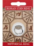 Roman Coin Ring - Pewter
