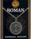 Roman Filigree Scroll Pendant - Pewter