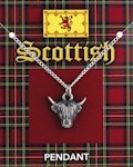 Highland Cow Head Pendant
