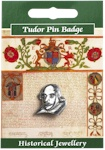 Shakespeare Bust Pin Badge