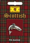 Scottish Salmon Pin Badge
