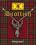 Scottish Stag Pendant