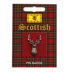 Scottish Stag Pin Badge