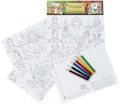 Tudor Educational Colouring Postcards