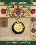 Tudor Rose Pendant - Gold Plated