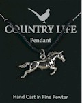 Horse Pendant - Pewter