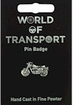 Classic Motorcycle Pin Badge