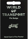 Vintage Car Pin Badge